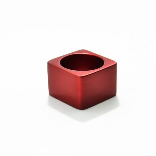 A1R3A_ Tectonics Alpha aluminium ring, €95