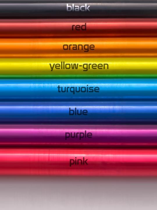 colour swatch aluminium EN