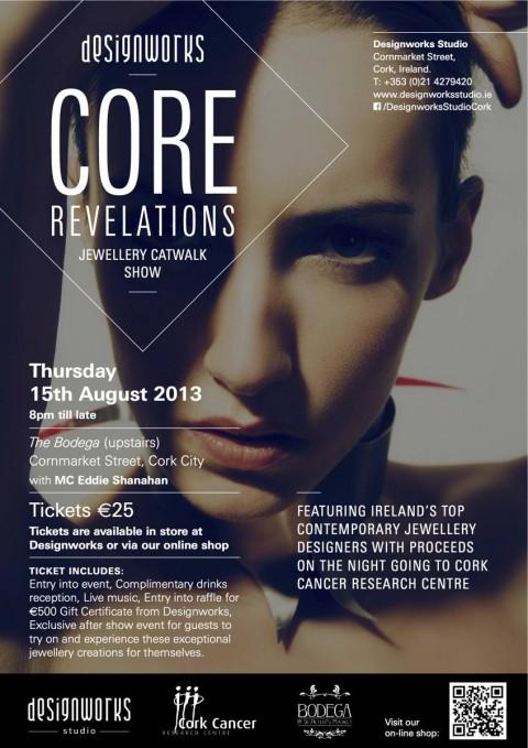 Core Revelations – Designworks Studio Jewellery Catwalk Show