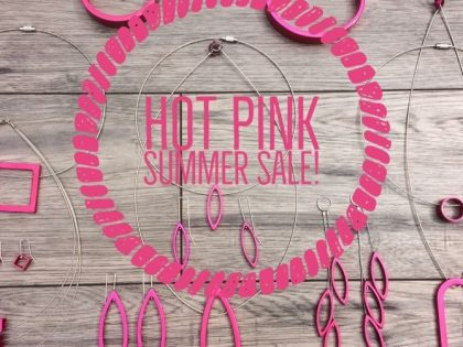 Hot Pink Summer Sale